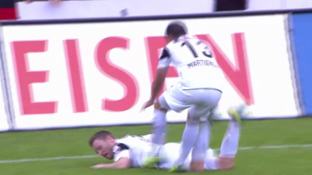 Video «Rang 3: Alain Schultz, 12% («sportpanorama», 29.09.2013)» abspielen