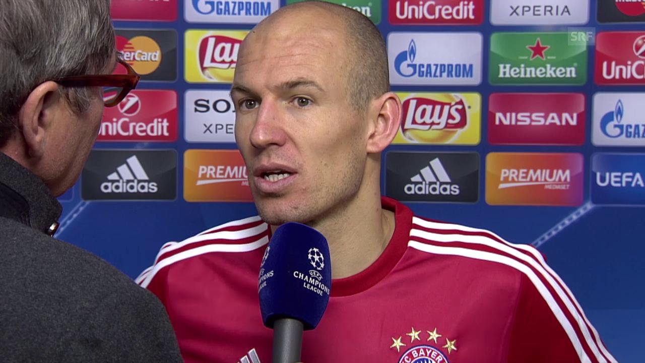 Interview mit Arjen Robben