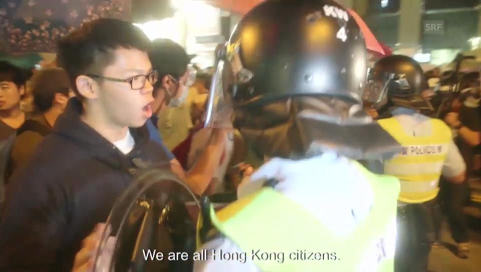 Angespannte Lage in Hong Kong (englische Untertitel)