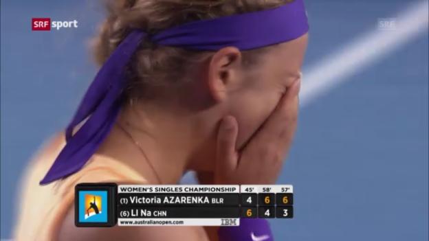 Video «Tennis: Australian Open, Final Frauen» abspielen