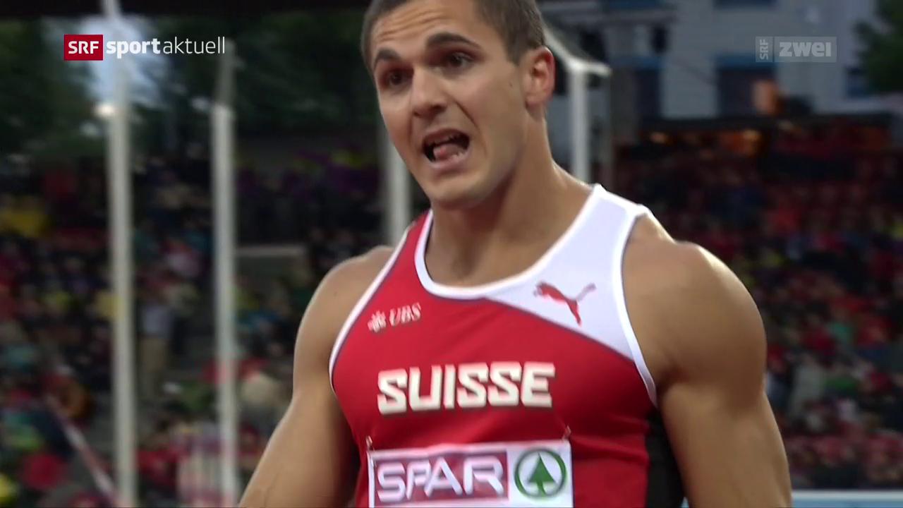 Wegen Verdachts auf Rassismus: Schweizer Leichtathlet für EM gesperrt