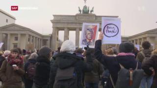 Video «Weltweite Proteste gegen US-Politik und Trump» abspielen
