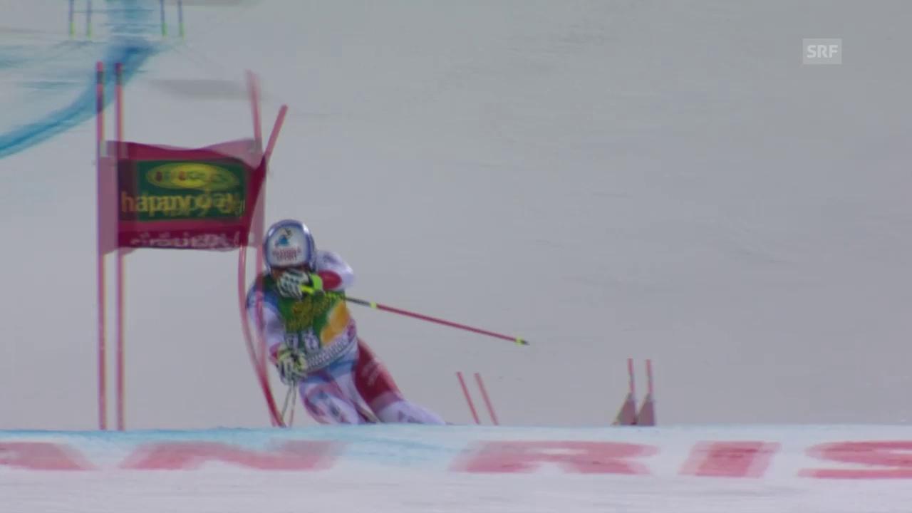 Ski: Parallel-RS, Alta Badia, Caviezel - Faivre