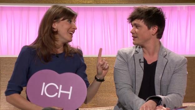 Video «Cornelia Boesch und Patric Scott bei «Ich oder Du»» abspielen