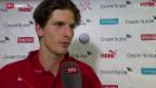 Video «Fussball: EM-Quali, Stimmen zum Spiel Schweiz - Slowenien» abspielen