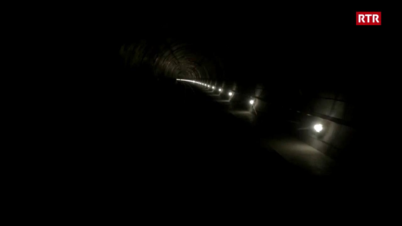Sequenza da purtrets durant il viadi or dal tunnel