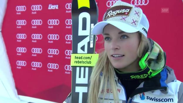 Video «Ski Alpin: Interview Lara Gut» abspielen