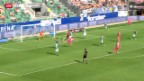 Video «GC schlägt St. Gallen» abspielen