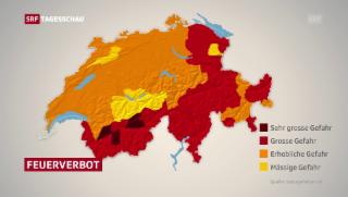 Video «Starke Trockenheit in der Schweiz» abspielen