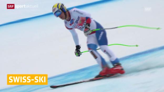 Video «Ski: Janka und Feuz zurückgestuft» abspielen