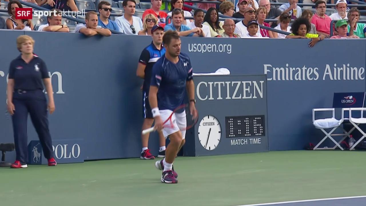 Tennis: US Open, Wawrinka-Ramos