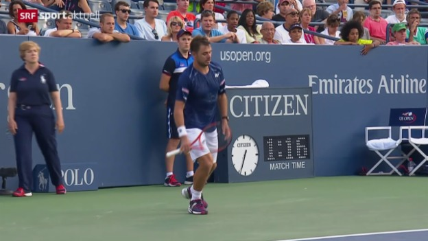 Video «Tennis: US Open, Wawrinka-Ramos» abspielen