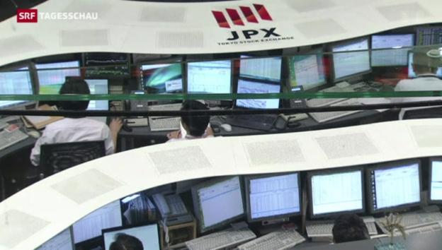 Video «Börse auf Talfahrt» abspielen