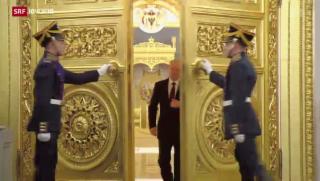 Video «Putin umwirbt Ukraine» abspielen