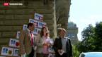 Video «Referendum gegen 100-Franken-Vignette eingereicht» abspielen