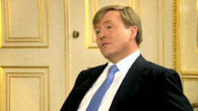Video «Prinz Willem-Alexander im Interview» abspielen