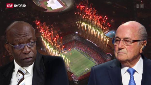 Video «Warum verkauft die Fifa TV-Rechte zum Dumpingpreis?» abspielen
