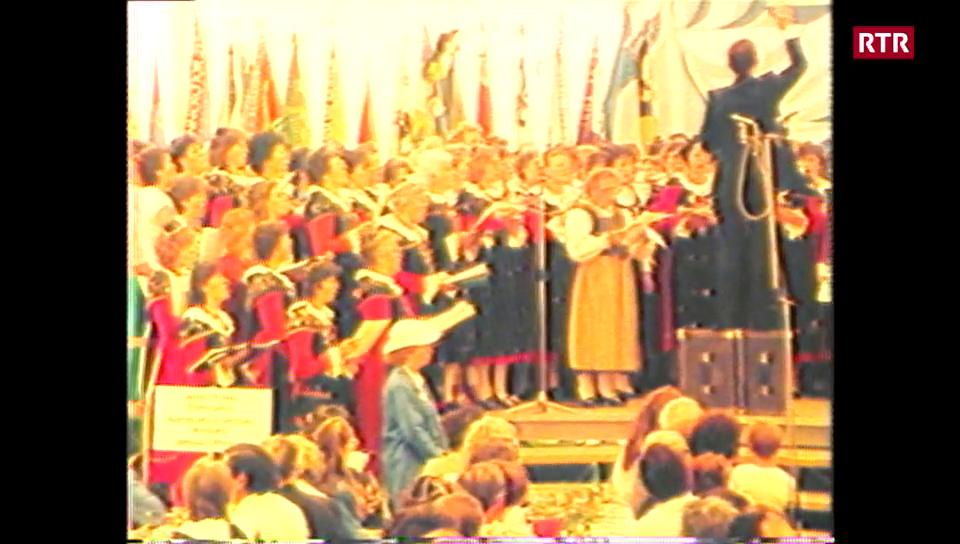 La Festa da chant a Scuol 1986