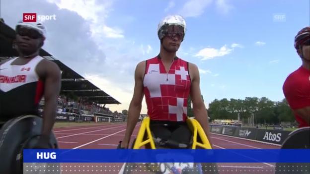 Video «Leichtathletik: Silber für Hug über 800 m («sportaktuell»)» abspielen