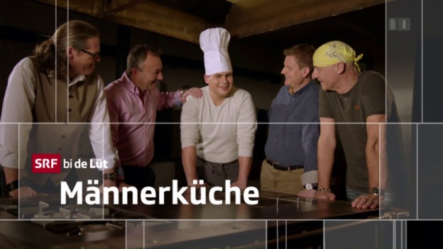 Video ««SRF bi de Lüt – Männerküche» (3/5): Renato Hauser» abspielen
