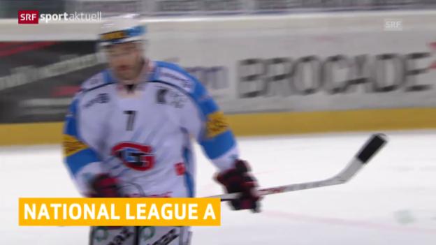 Video «Eishockey: NLA» abspielen