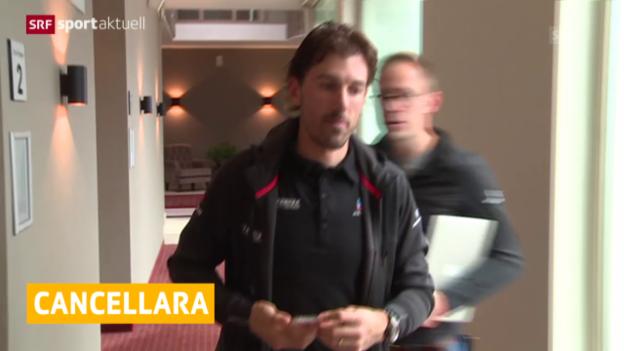 Video «Rad: Fabian Cancellara vor dem Comeback» abspielen