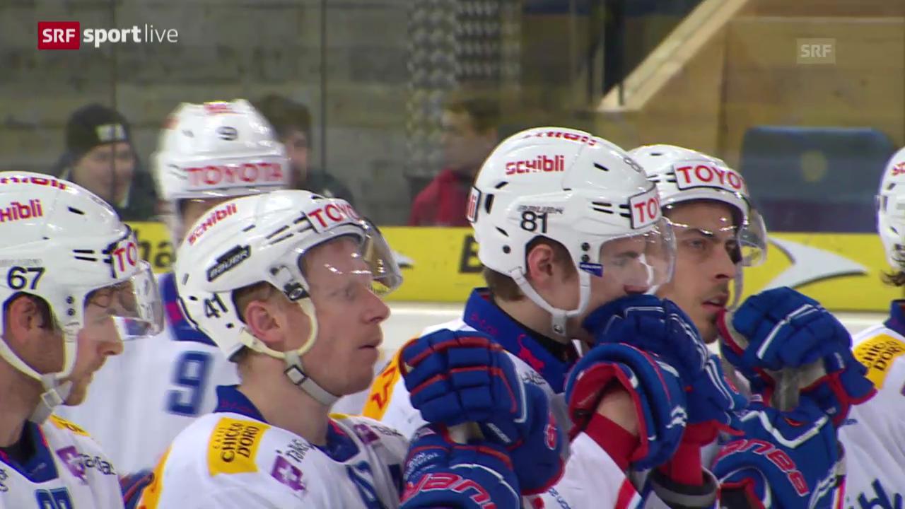 Eishockey: Playoff-Viertelfinal, Davos - Kloten («sportlive», 13.03.2014)