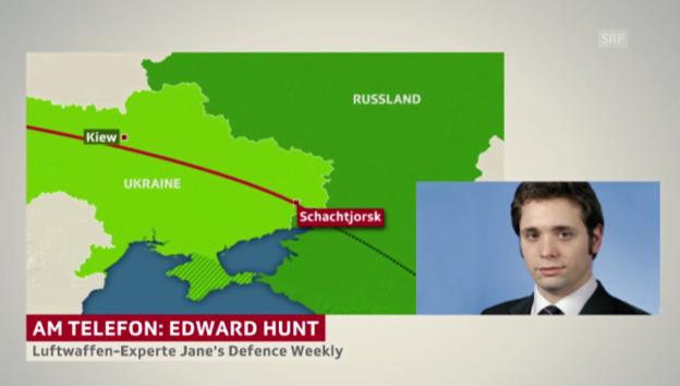 Video «Luftwaffen-Experte Edward Hunt zum Unglück» abspielen
