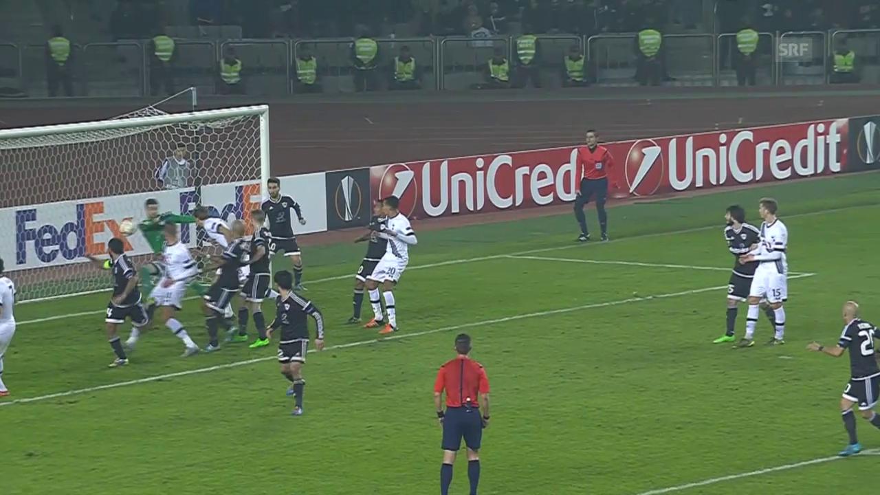 Fussball: EL, Karabach - Tottenham
