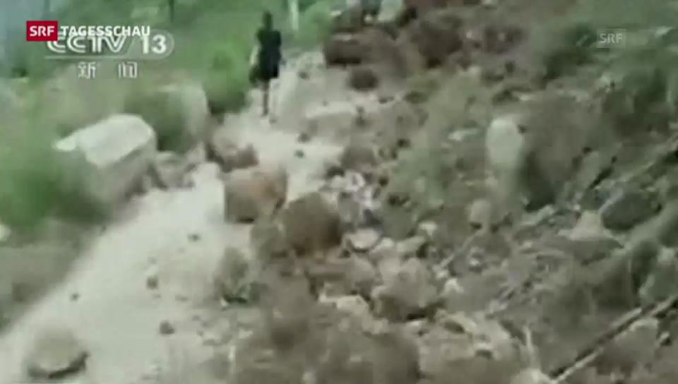 Tote bei Erdbeben in China
