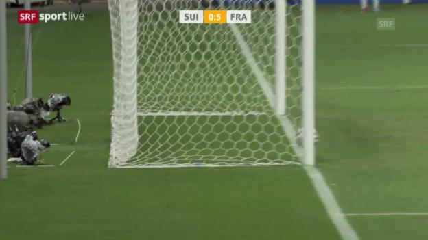 Video «FIFA WM 2014: Spielbericht Schweiz - Frankreich» abspielen