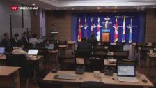 Video «Nordkorea setzt Raketen-Testserie trotz Protesten fort» abspielen