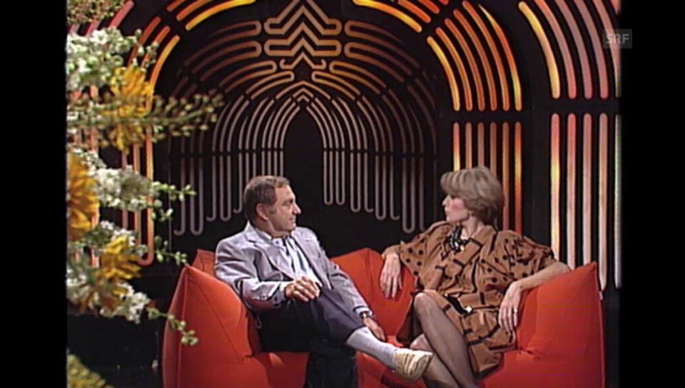 1984: Jörg Schneider bei «Musik und Gäste»