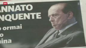 Video «Reaktionen nach Berlusconi-Urteil» abspielen