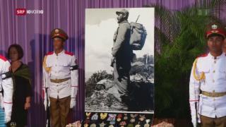 Video «Personenkult um Fidel Castro» abspielen