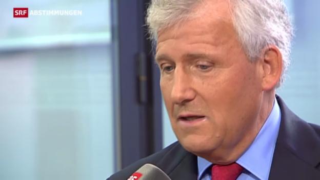 Video «Reaktion Hans Stöckli, SP Bern» abspielen