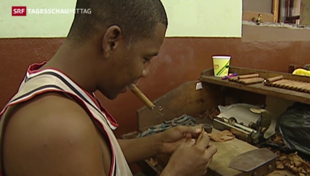Video «Kubanische Zigarren in die USA» abspielen