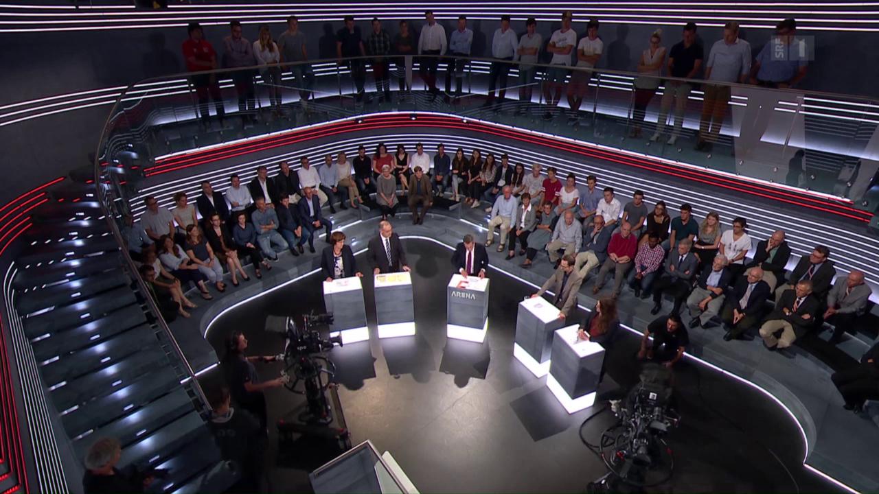 Abstimmungs-Arena: Referendum Nachrichtendienstgesetz