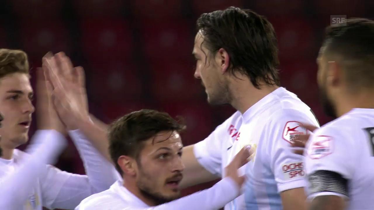 FCZ mit klarem Heimsieg gegen Lugano