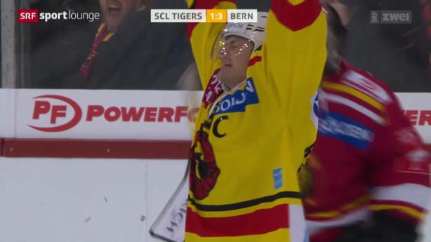 Video «Eishockey: Cup-Knüller SCL Tigers - SC Bern» abspielen