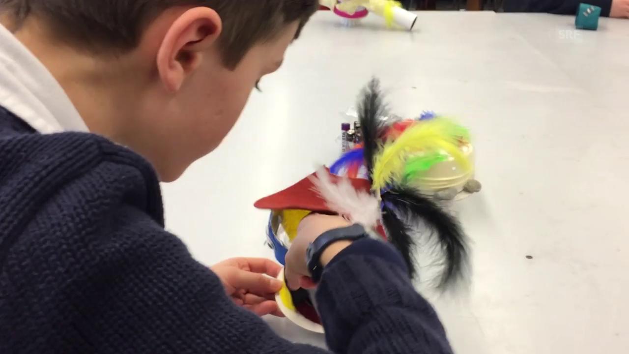 Handarbeit 2.0 in Zürcher Schule