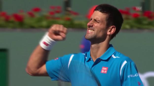 Video «Djokovic bezwingt Nadal (sntv)» abspielen