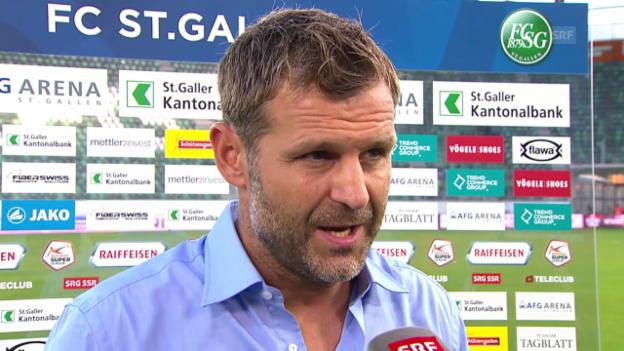 Video «Fussball: Aarau-Coach Sven Christ im Interview» abspielen