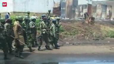 Video «Kenia 2008: Ausschreitungen und Eingreifen der EU» abspielen
