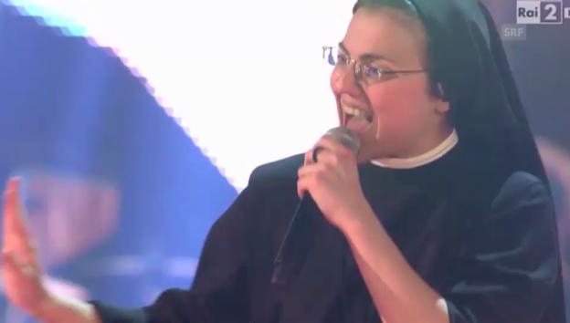 Video «Scuccias Auftritt im Finale» abspielen
