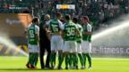 Video «St. Gallen rettet das 3:2 über die Zeit» abspielen