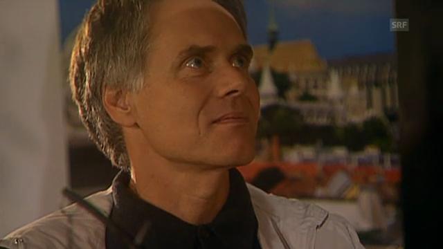 Gaststar Moritz Leuenberger in der Sendung «Lüthi & Blanc
