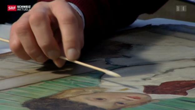 Video «Meisterwerk erstrahlt in neuem Glanz» abspielen
