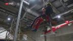 Video «Training im Höhenrettungszentrum Zofingen» abspielen