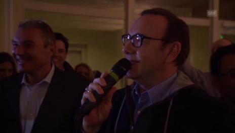Video «Eine WEF-Zusammenfassung von Schauspieler Kevin Spacey» abspielen